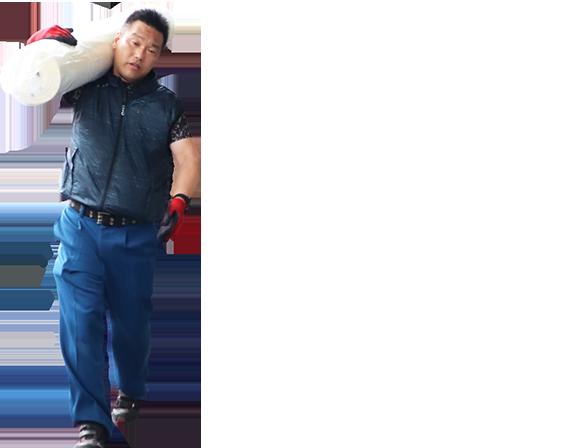 スタッフ写真:自分の力を試したい!!